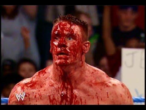 john cena fake blood