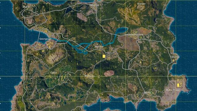 PUBG के इस MAP को  ERANGEL MAP क्यों कहते हैं