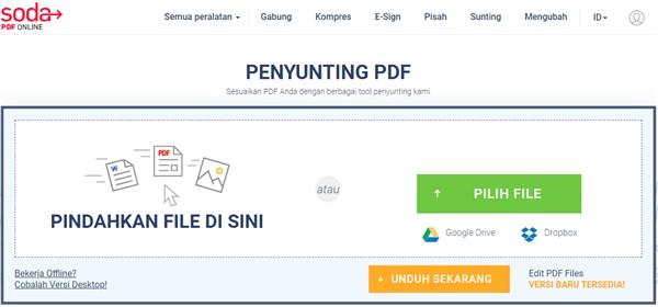 penyunting pdf online gratis