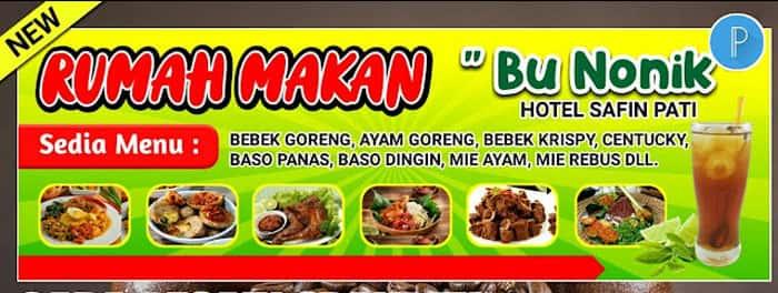 contoh banner warung makan