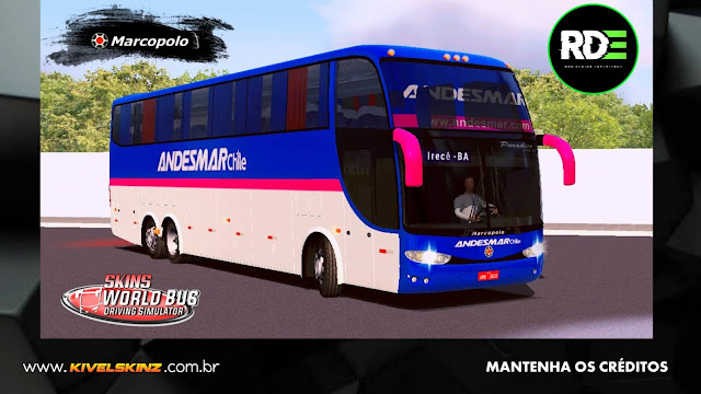 PARADISO G6 1550 LD - VIAÇÃO ANDESMAR (CHILE)