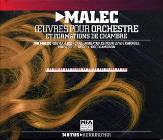 Ivo Malec, Oeuvres pour orchestre et formations de chambre