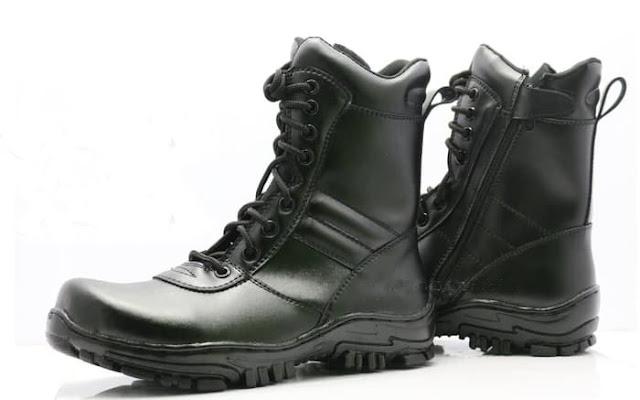Sepatu PDL TNI Kulit