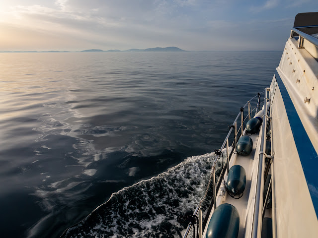Photo of Ravensdale heading out across the Solway Firth