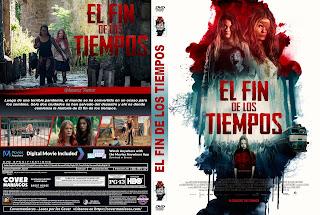CARATULA Endzeit - EL FIN DE LOS TIEMPOS 2019 [ COVER DVD ]