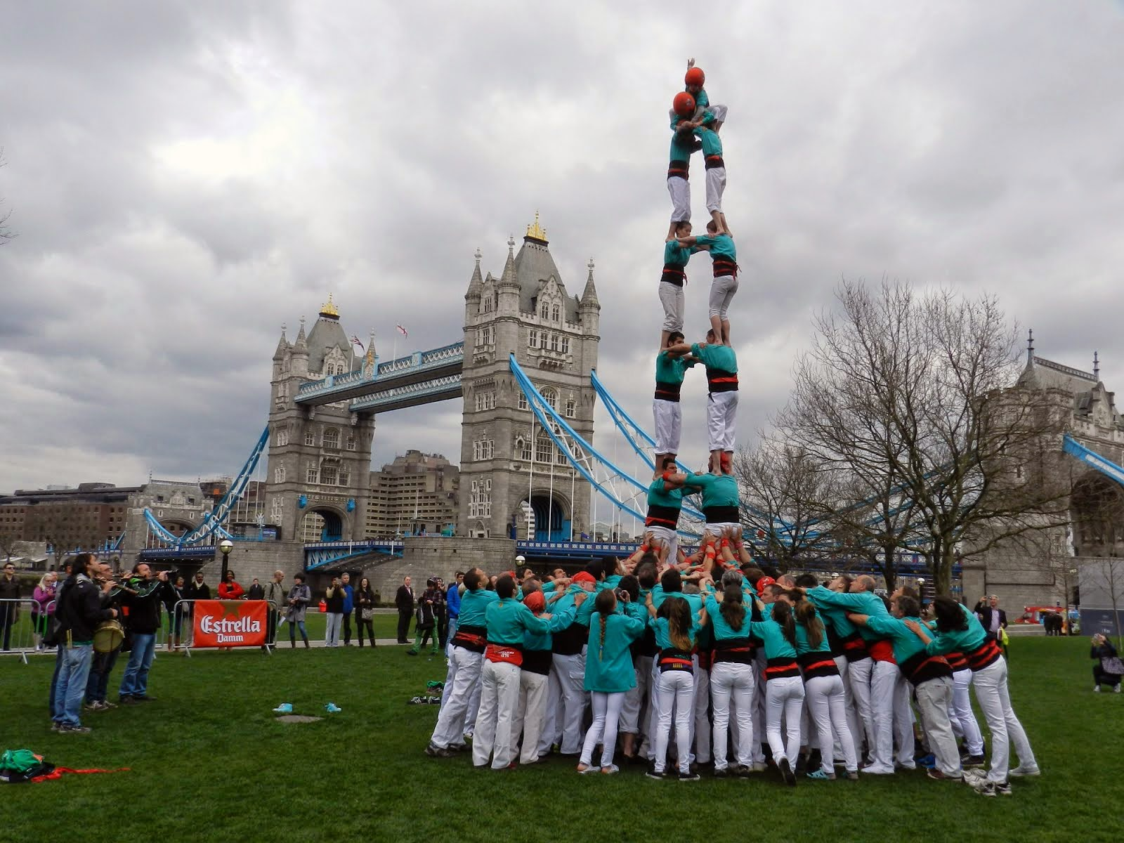Human Towers in London