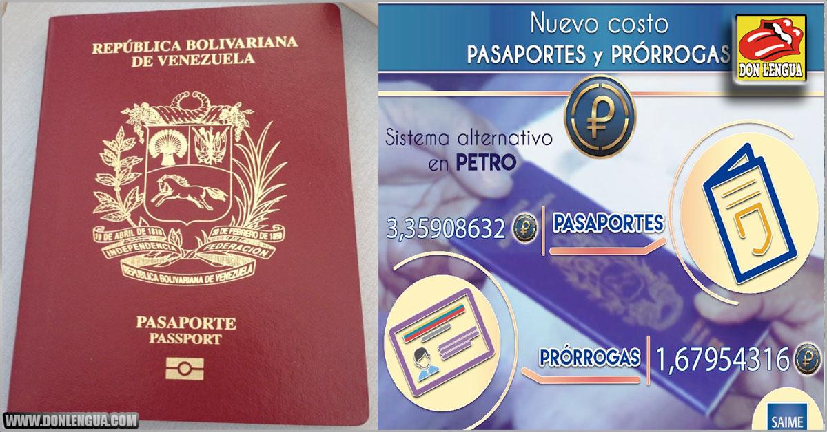 Devaluación del Bolívar disparó el precio de los pasaportes y las prórrogas
