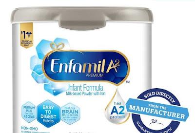 Sữa Bột Enfamil A2 Premium Infant Formula 553g Mỹ cho bé 0 - 12 tháng