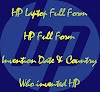 HP Laptop Full Form: HP Full Form