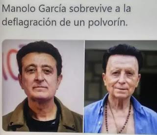 Foto comprando a Manolo García con Ortega Cano
