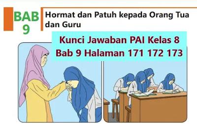 Kunci-Jawaban-PAI-Kelas-8-Bab-9-Halaman-171-172-173