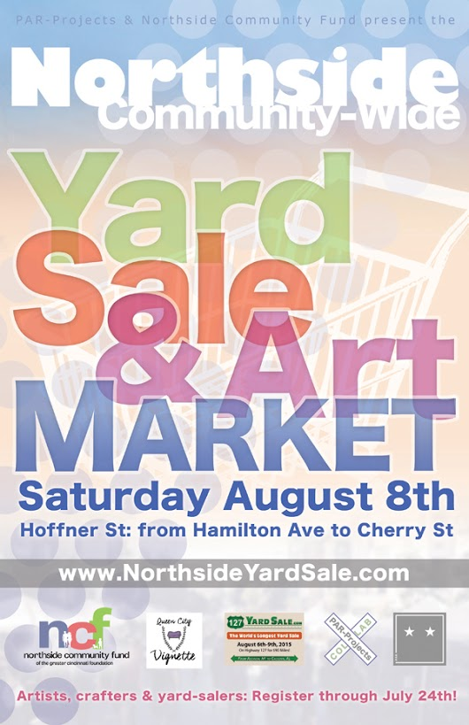 August 8th // The Northside Yard Sale & Art Market