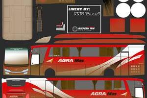 18+ Livery MOD BUSSID Skyliner CVT By Aldovadewa Terbaru 2020