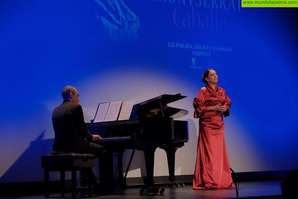 La hija de Montserrat Caballé presentó en La Palma el trabajo inédito de la soprano internacional