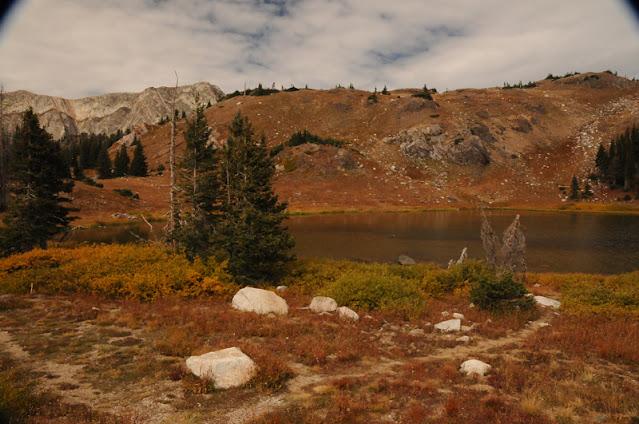 Snowy Range autumn tundra