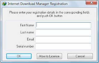 idm fix registration dialog