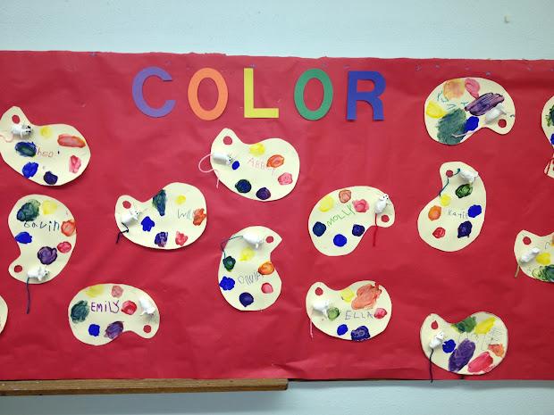 Mouse Paint Bulletin Board Ideas