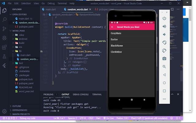 Build A Simple Flutter Application Part 1