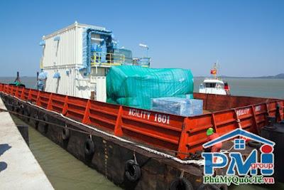 Cảng nội địa phù hợp tàu 1000 DWT
