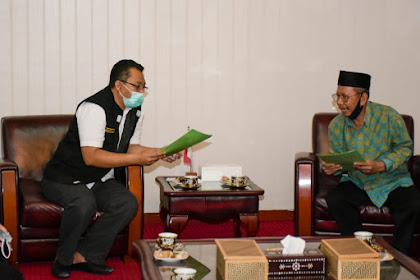 Gubernur Sambut Baik Program DMI NTB Dalam Bidang Pendidikan dan Ekonomi