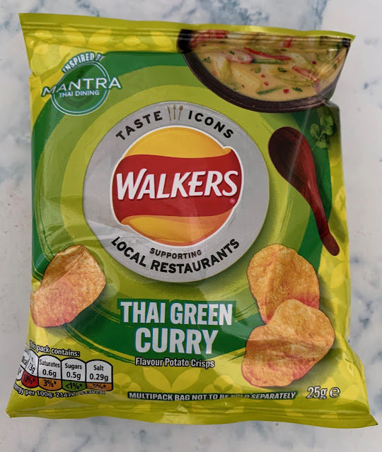 Walkers Thai Green Curry flavour