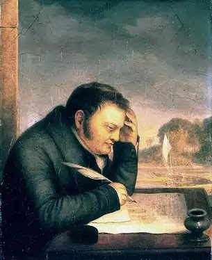The great development of prose writing in the Romantic period showed itself chiefly in the literary criticism and in the essay and it attained its most striking effects.