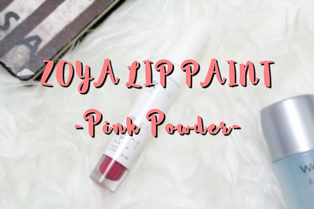 Zoya Lip Paint: Pink Powder