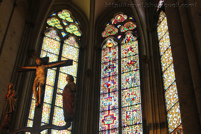 Cologne Cathedral Stained Glass Windows