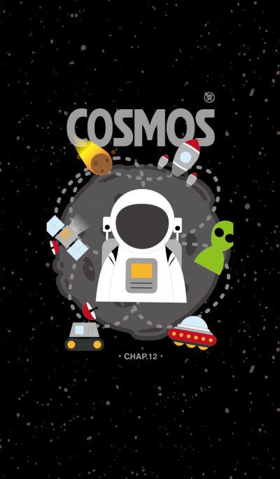 COSMOS CHAP.12 - OUT SPACE IN B/W