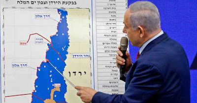 Netanyahu  promete ocupar o Vale do Rio Jordão