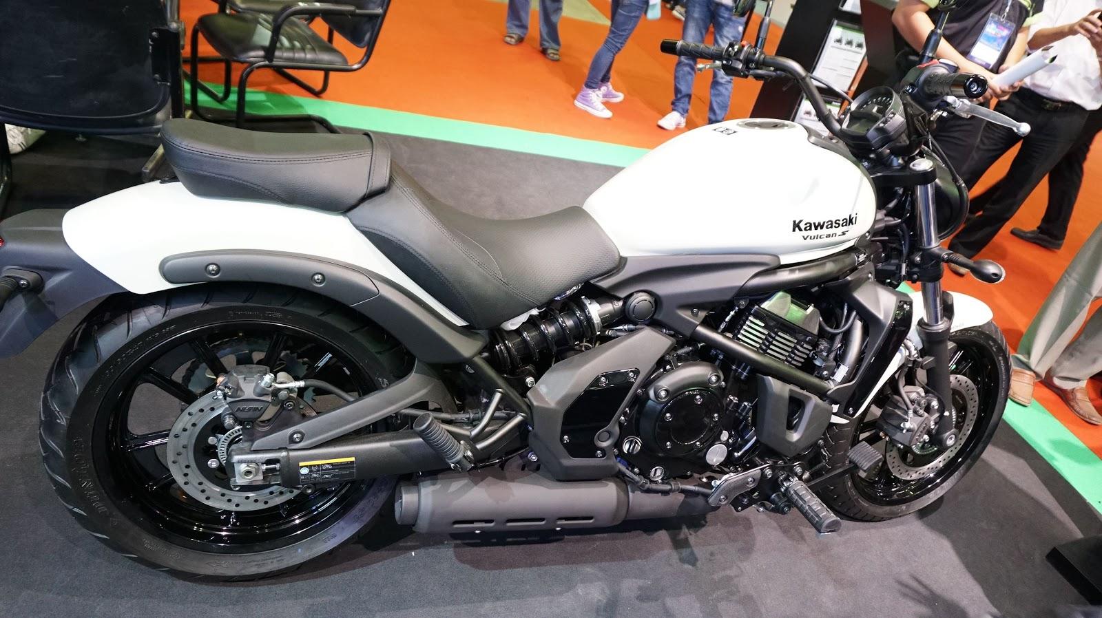Kawasaki Vulcan S ABS hấp dẫn và vừa tầm với người Việt