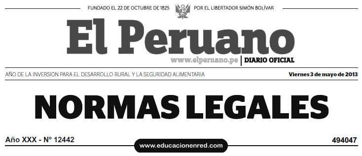 D. S. Nº 004-2013-ED - Aprueban Reglamento de la Ley Nº 29944, Ley de Reforma Magisterial (.PDF) MINEDU - www.minedu.gob.pe