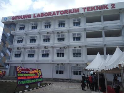 ITERA Resmikan Penggunaan Laboratorium Teknik 2