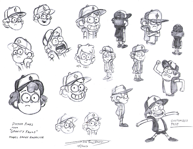 Production Concept Art : Gravity Falls- Concept Art