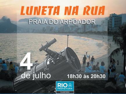 Rio de Janeiro: Observação do céu no