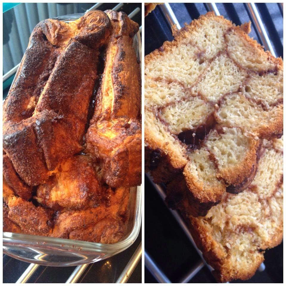 gevuld brood bakken