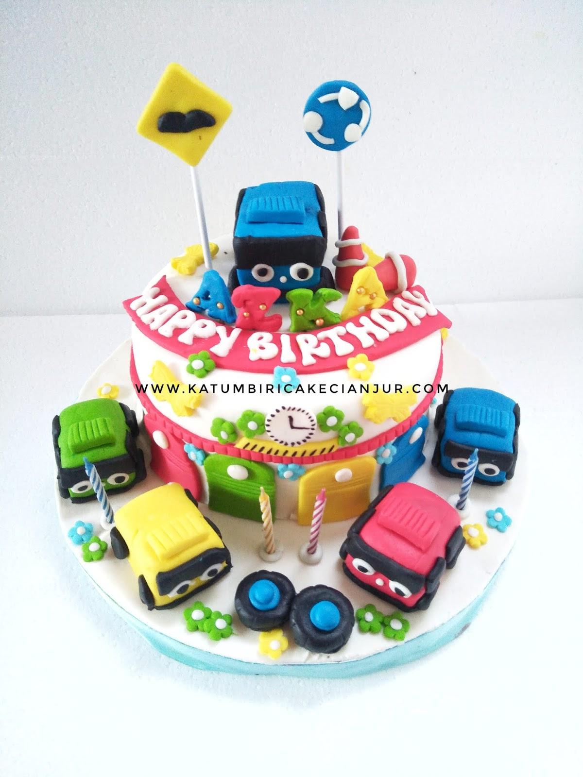 Kue Ulang Tahun Tayo Katumbiri Custom Cake Cianjur