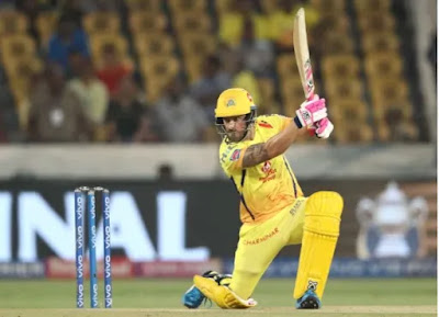 The fantastic Faf led Chennai to victory in the IPL opener