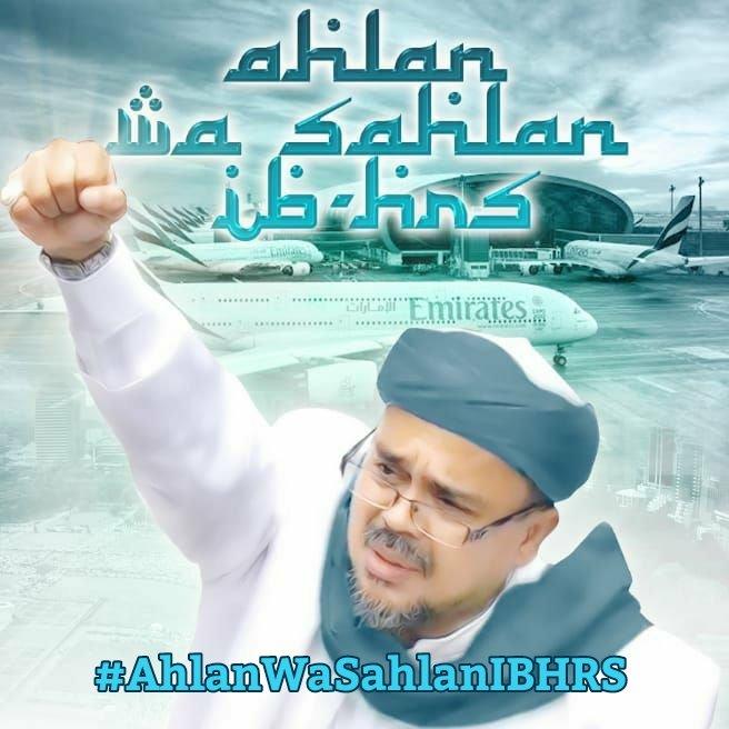 40 Ormas Islam Menyambut Hangat Kembalinya Habib Rizieq
