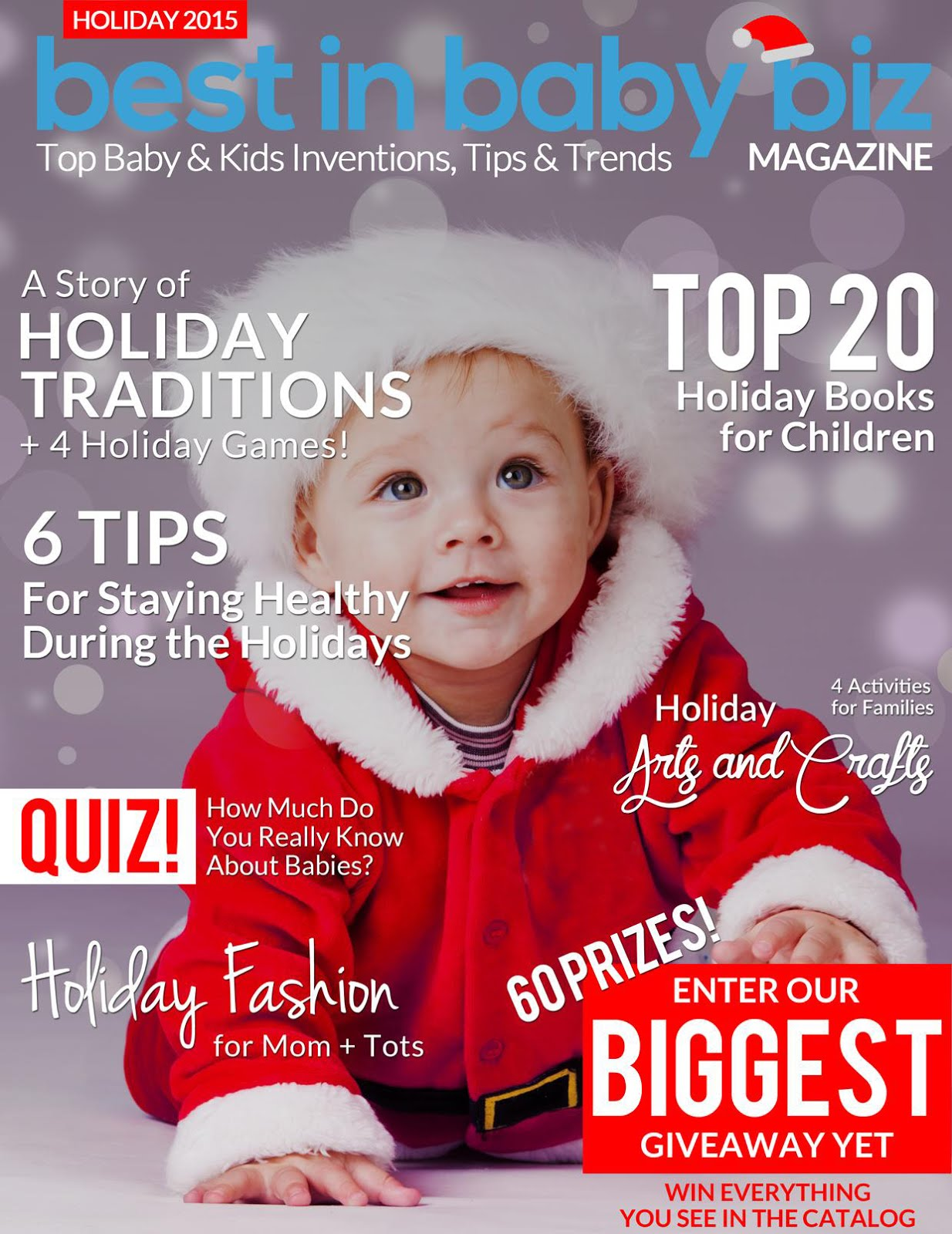 Genesis 950 was featured in the Holiday 2015 Issue of Best In Baby Biz