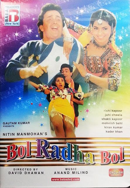 Bol Radha Bol (1992) DVDRip Subtitle Indonesia