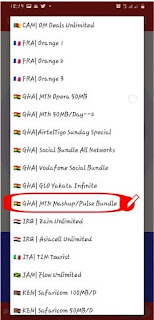 UT Loop VPN settings for MTN Mashup