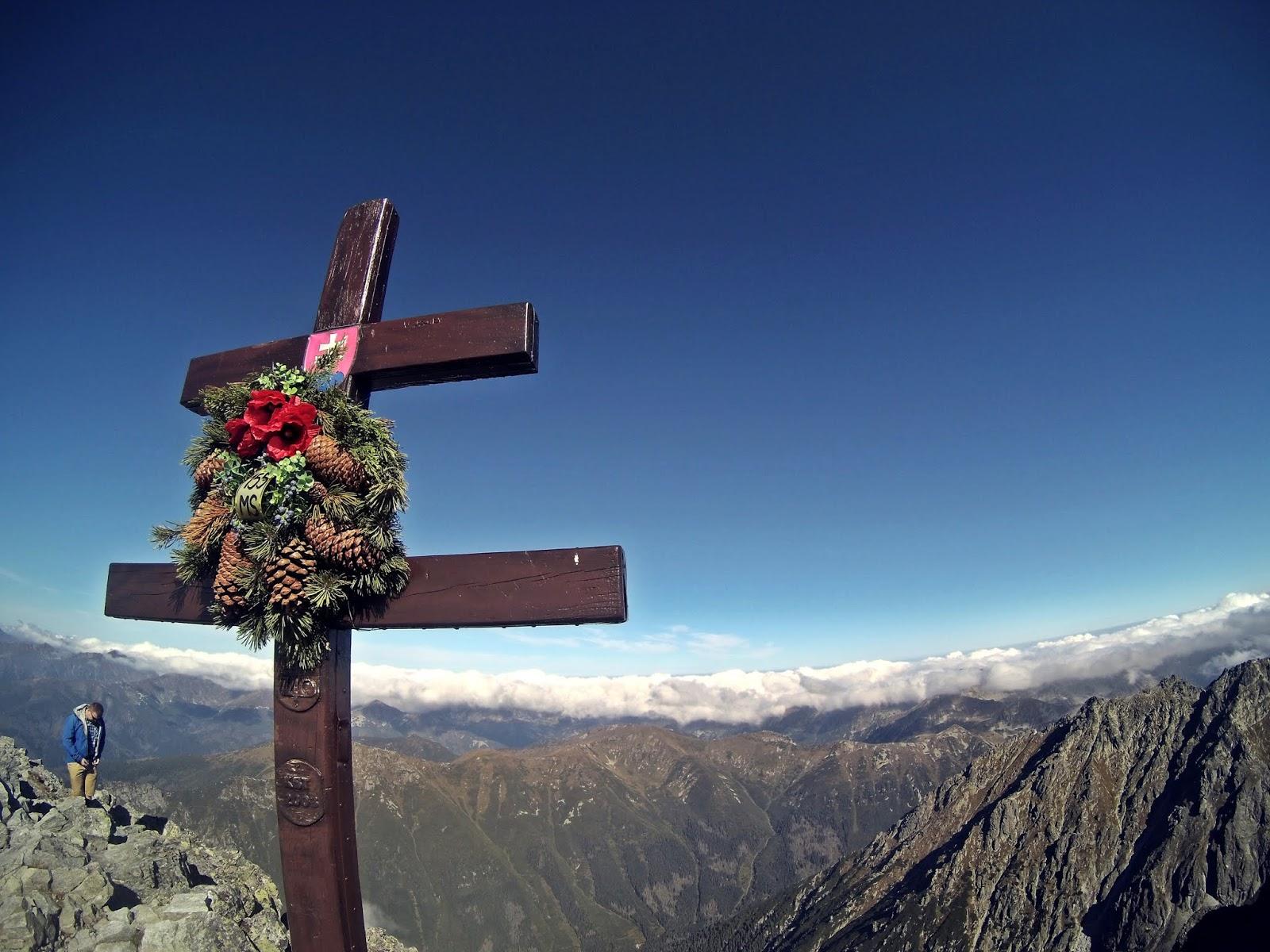 krzyż Krywań Tatry Wysokie