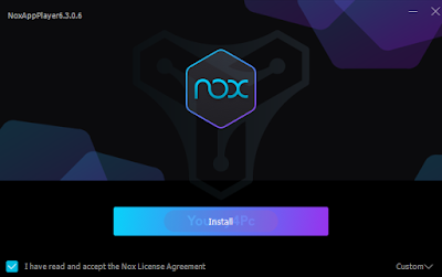 تحميل محاكي أندرويد NoxPlayer اخر اصدار  مفتوح الخيارات لتشغيل تطبيقات وألعاب الأندرويد على الكمبيوتر