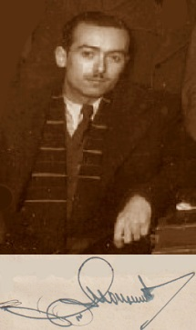 El ajedrecista Agustí Monserrat i Castellà