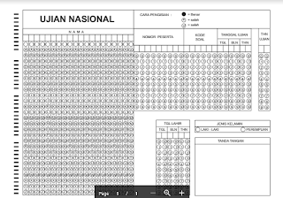 lembar jawaban komputer pdf