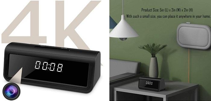 Clock Spy Cam