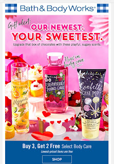 Bath & Body Works | Today's Email - February 3, 2020