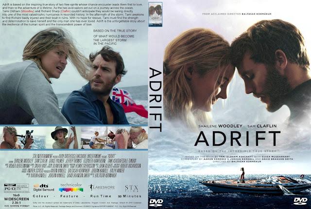 Adrift DVD Cover