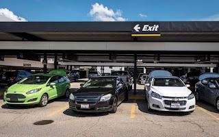 parking rent a car agencije